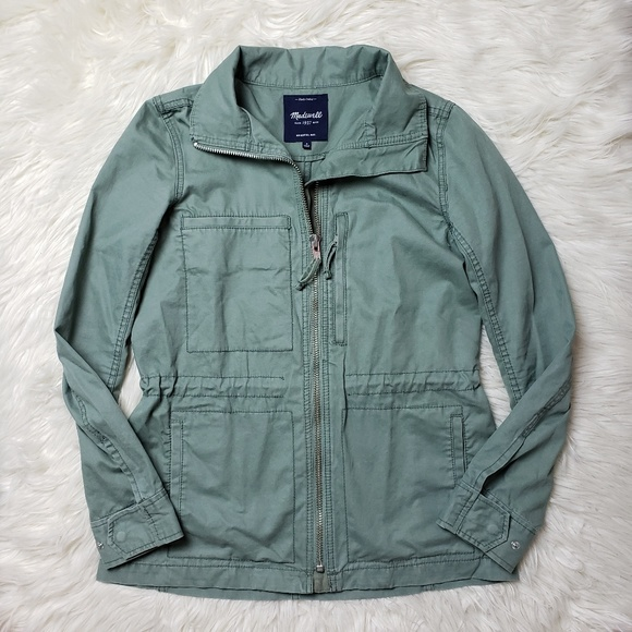 Madewell Jackets & Blazers - Madewell Green Fleet Utility Military Jacket